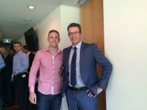 Joel Selwood and Chris